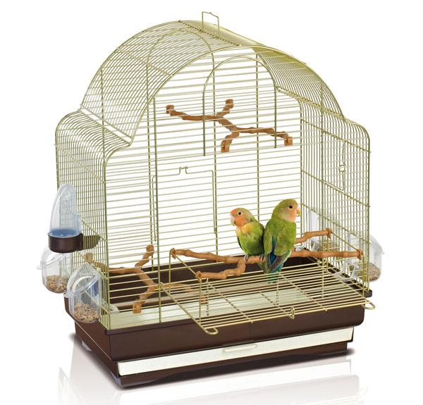 Аксессуары для клеток - как обустроить клетку для попугая