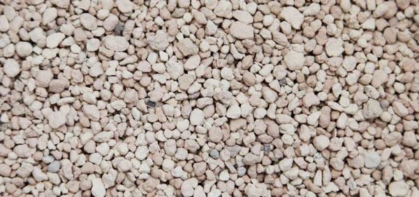 Наполнители из минеральных пород гранулированные