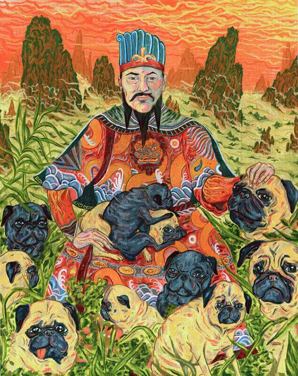 Породы собак: Мопс впервые появился в древнем Китае
