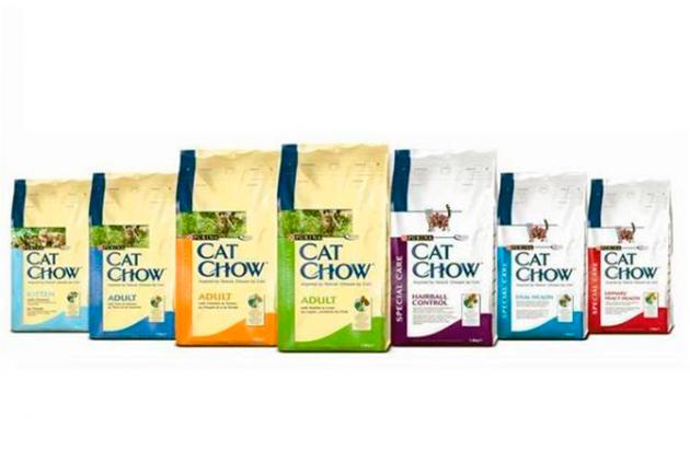 Корма CAT CHOW подходят для всех групп кошек