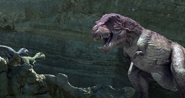 В пасти тарбозавра располагалось примерно шесть десятков зубов