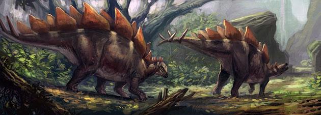 Крышеящеры были типичными травоядными динозаврами
