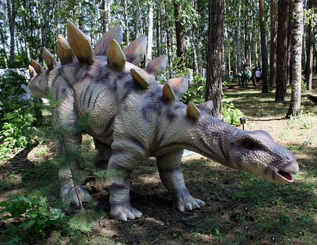 Изначально ученные, ошибочно, принимали стегозавра за древнюю черепаху