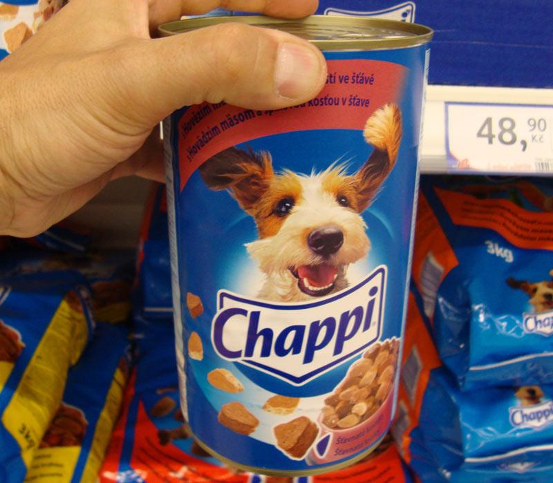Производителем продукция бренда Chappi позиционируется в качестве универсального сухого рациона